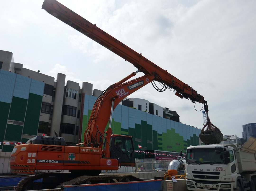 Specializing In Earthworks & Earthmoving In Singapore