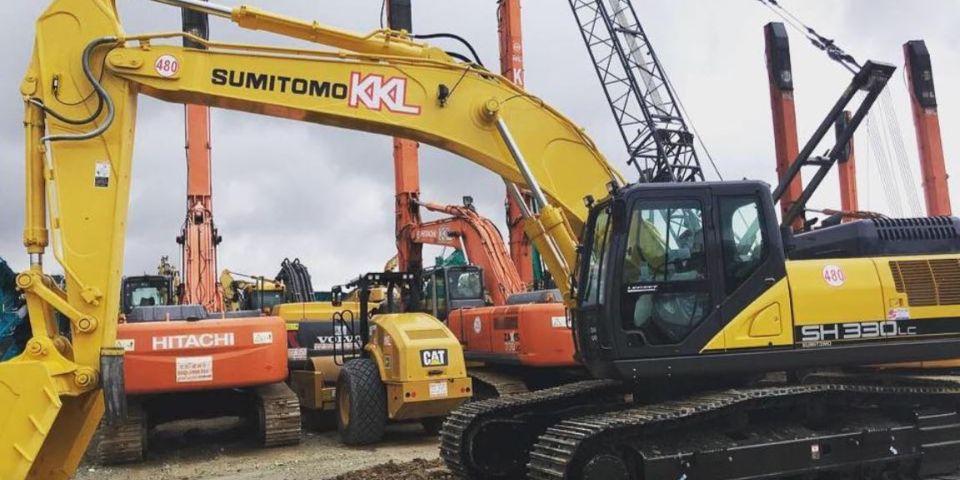 construction equipment machinery rental singapore